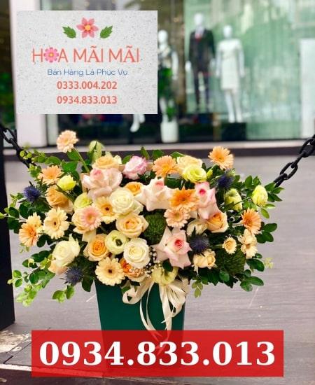 Cửa hàng hoa tươi quận Bình Thạnh