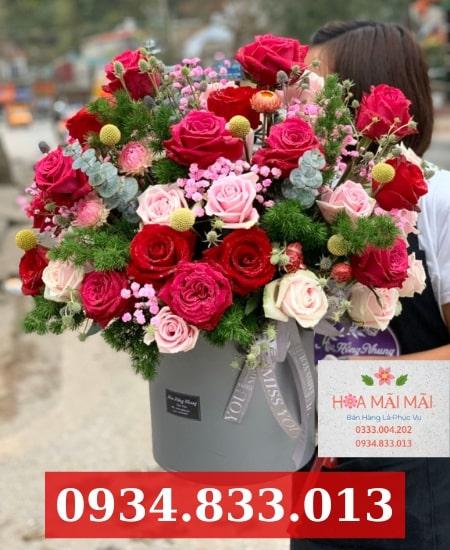 Cắm hoa theo mẫu quận Bình Thạnh
