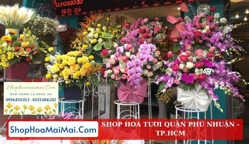Tiệm hoa tươi quận Phú Nhuận