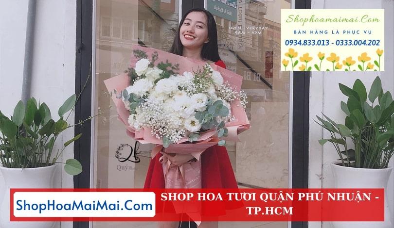 Điện hoa sinh nhật quận Phú Nhuận