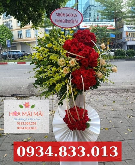 Đặt hoa khai trương quận Phú Nhuận