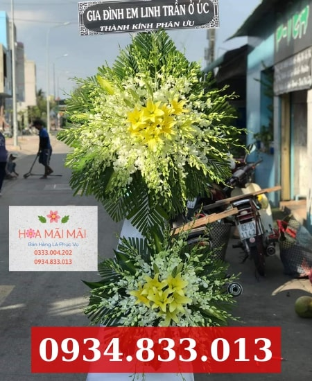 Giao hoa chia buồn tận nơi quận Phú Nhuận
