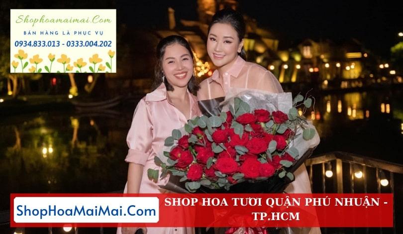 Tặng hoa tận nơi quận Phú Nhuận