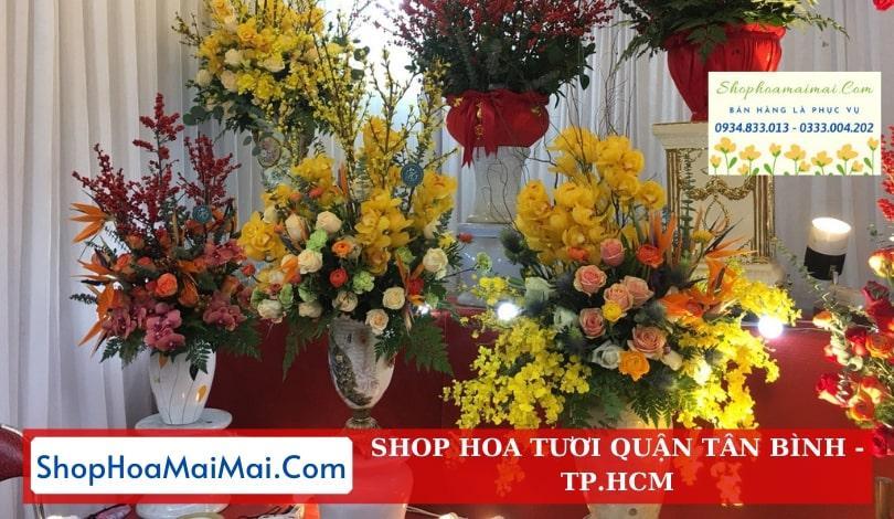 Shop hoa quận Tân Bình