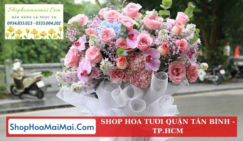 Đặt hoa sinh nhật quận Tân Bình