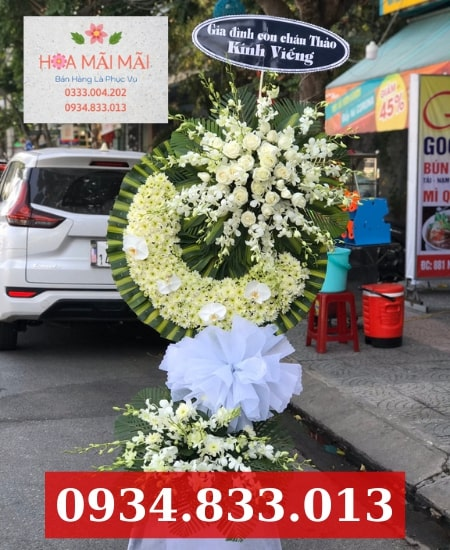 Cửa hàng hoa đám tang quận Tân Phú
