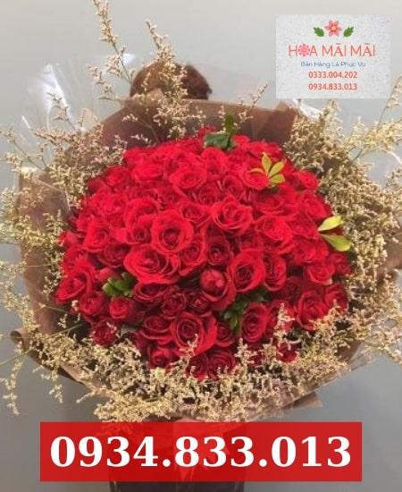 Mua hoa tươi online quận Tân Phú