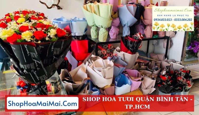 Shop hoa tươi quận Bình Tân