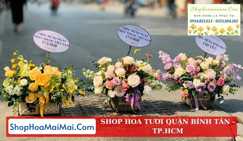 Điện hoa tươi quận Bình Tân
