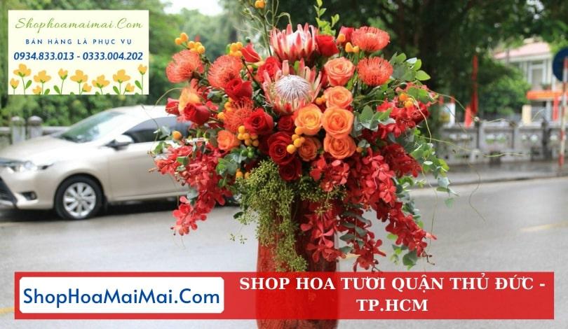 Cửa hàng hoa tươi qận Thủ Đức