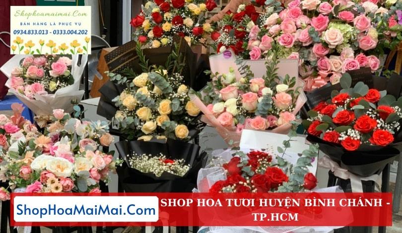 Cửa hàng hoa huyện Bình Chánh