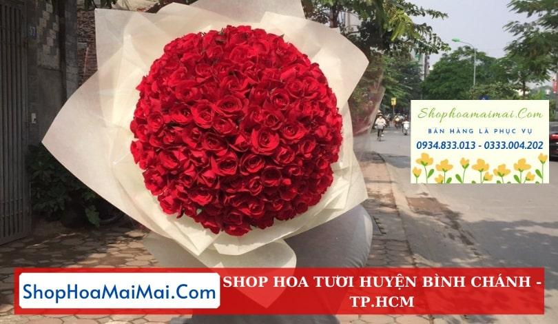 Đặt hoa sinh nhật huyện Bình Chánh