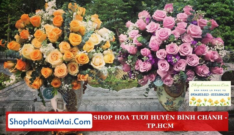 Shop hoa giao hàng tận nơi huyện Bình Chánh