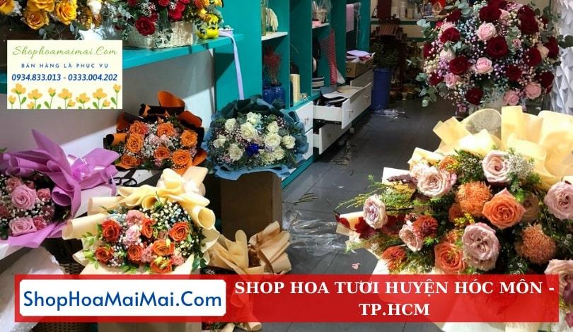 Cửa hàng hoa tươi huyện Hóc Môn