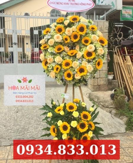 Cửa hàng hoa khai trương huyện Hóc Môn