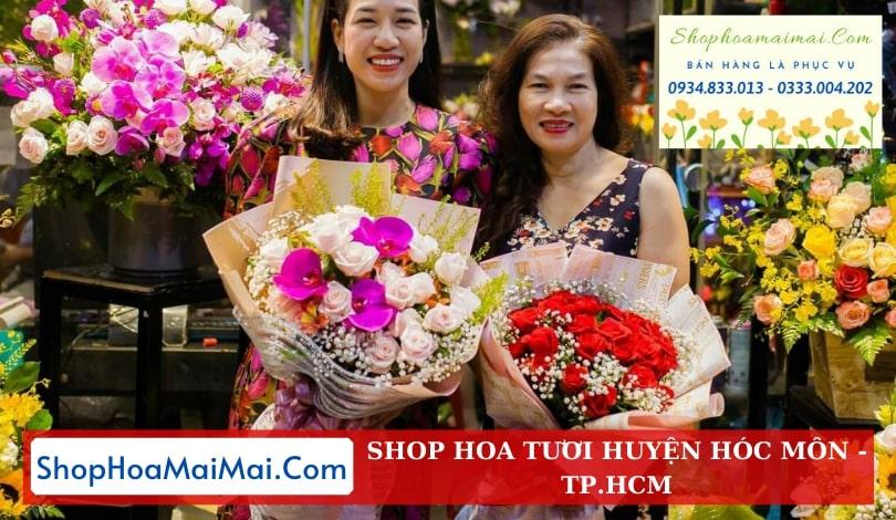 Tiệm hoa tươi huyện Hóc Môn