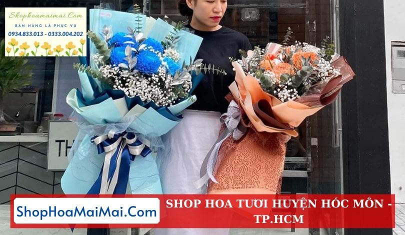 Mua hoa tươi online huyện Hóc Môn