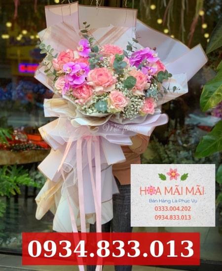 Điện hoa tươi huyện Hóc Môn