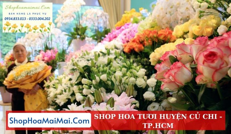 Shop hoa huyện Củ Chi TPHCM