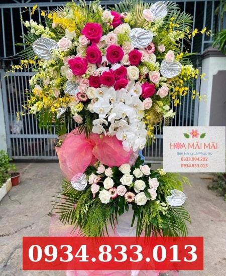 Cửa hàng hoa khai trương huyện Củ Chi