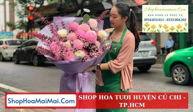 Cắm hoa sinh nhật theo yêu cầu huyện Củ Chi