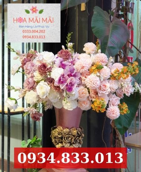 Cắm hoa theo mẫu huyện Củ Chi