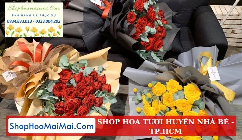 Shop hoa huyện Nhà Bè