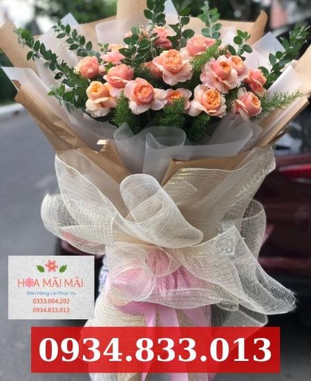 Cắm hoa sinh nhật theo yêu cầu huyện Nhà Bè