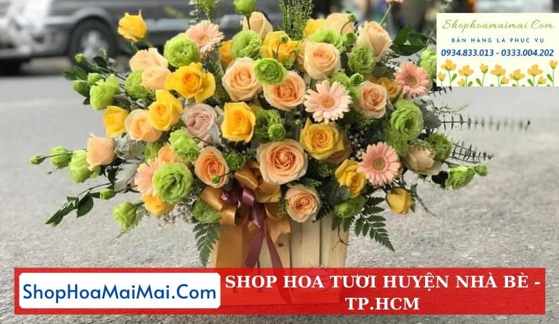Cửa hàng hoa tươi huyện Nhà Bè