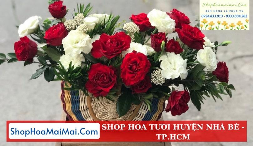Mua hoa tươi online huyện Nhà Bè