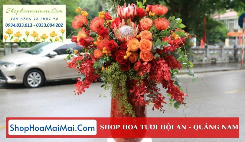 Mua hoa tươi online Hội An
