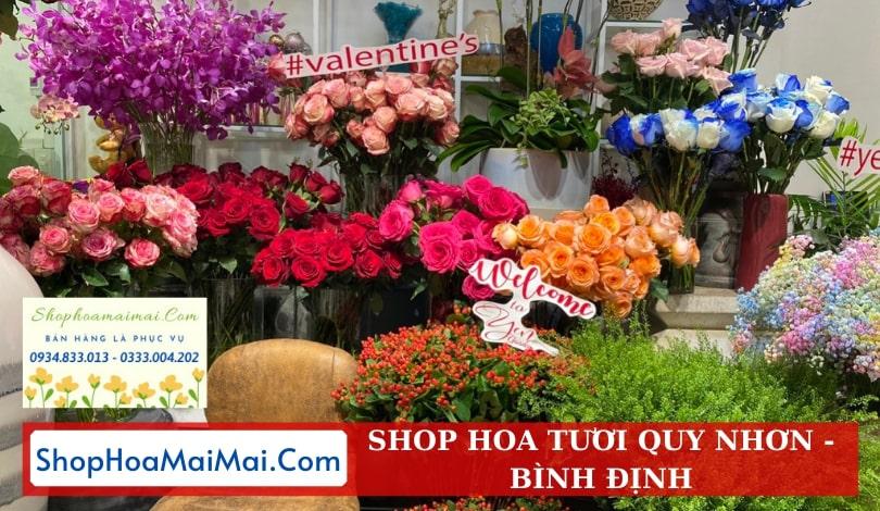 Mua hoa tươi online tại Bình Định