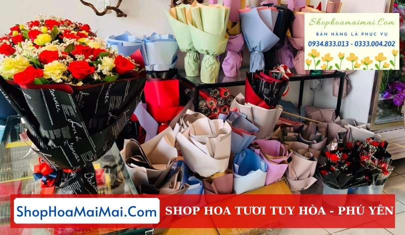 Shop hoa tươi Tuy Hòa