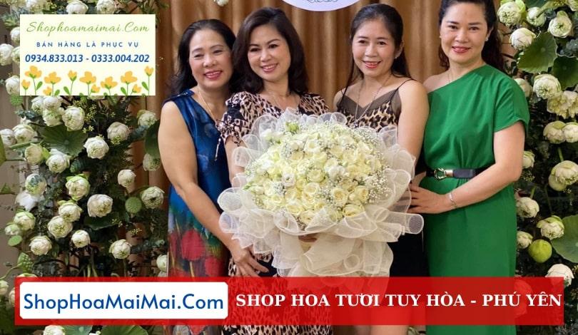 Cắm hoa sinh nhật theo yêu cầu Phú Yên