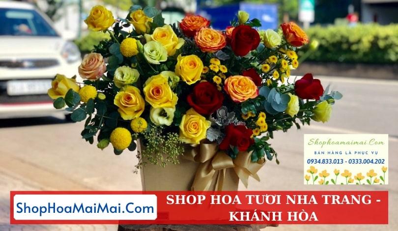 Tiệm hoa tươi online Khánh Hòa