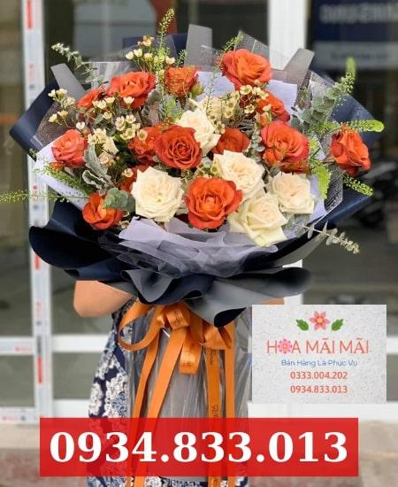 Cắm hoa theo mẫu tại Nha Trang