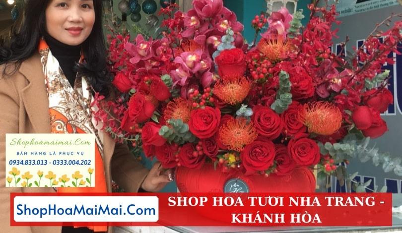 Đặt hoa tươi online tại Nha Trang