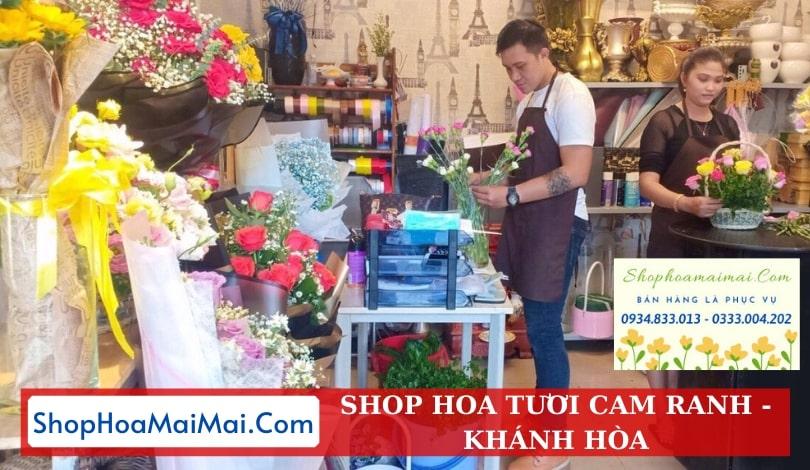 Shop hoa tươi Cam Ranh