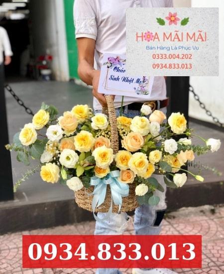 Cửa hàng hoa tươi Long Xuyên