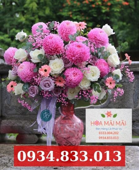 Cắm hoa sinh nhật theo yêu cầu Long Xuyên
