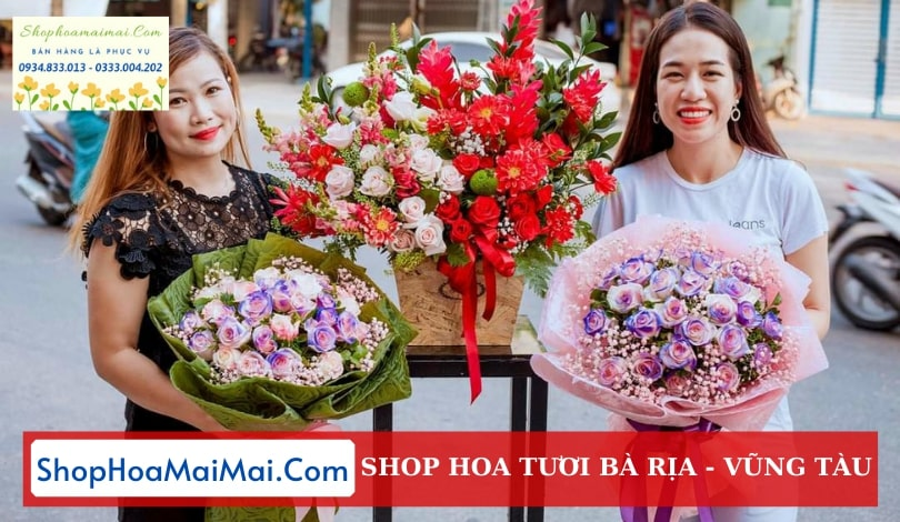 Cửa hàng hoa tươi Bà Rịa