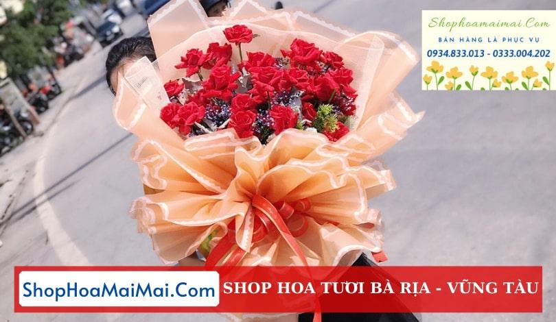 Mua hoa tươi giao hoa tận nơi Bà Rịa