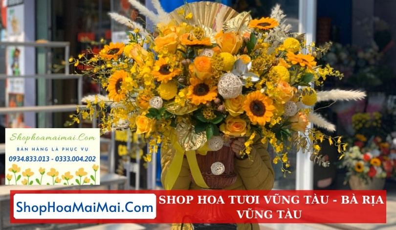 Shop hoa tươi uy tín Vũng Tàu