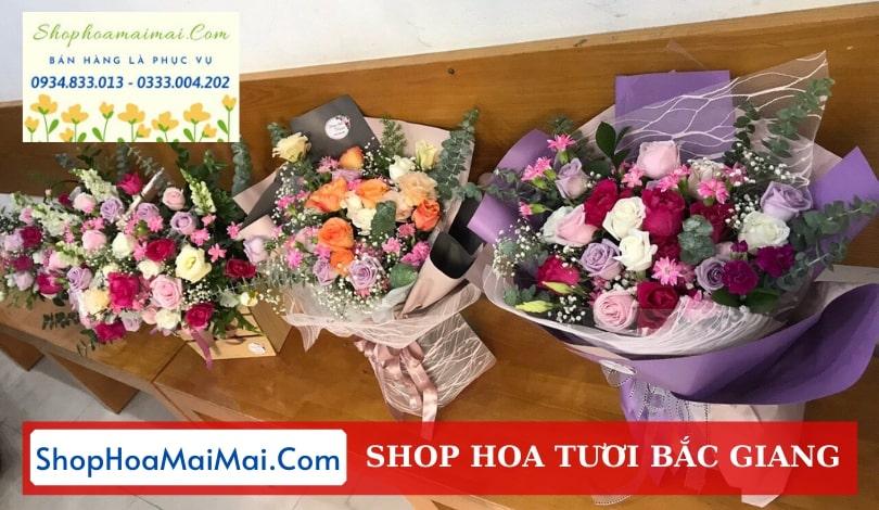 Shop hoa tươi Bắc Giang