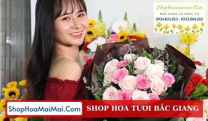 Cắm hoa theo yêu cầu Bắc Giang