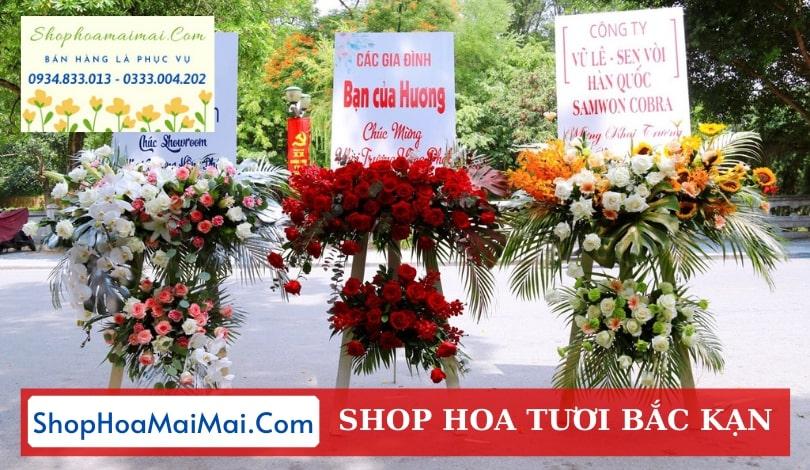 Cửa hàng hoa khai trương Bắc Kạn