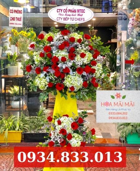 Cửa hàng hoa khai trương Bạc Liêu