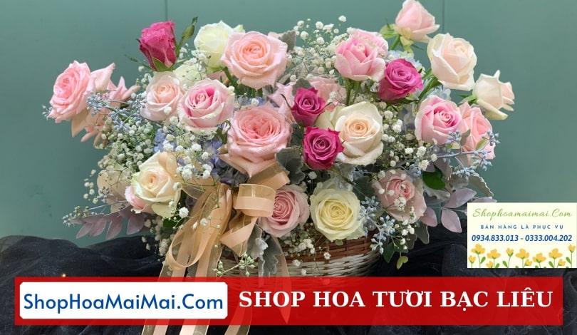 Đặt hoa tươi online Bạc Liêu