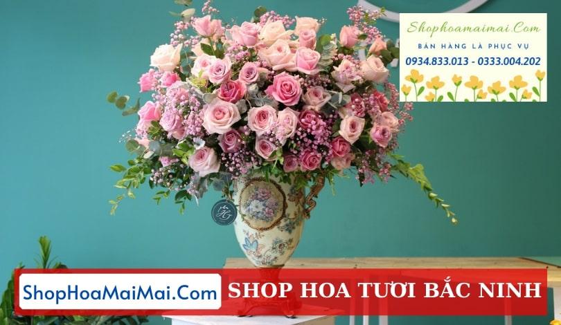 Đặt hoa tươi online Bắc Ninh