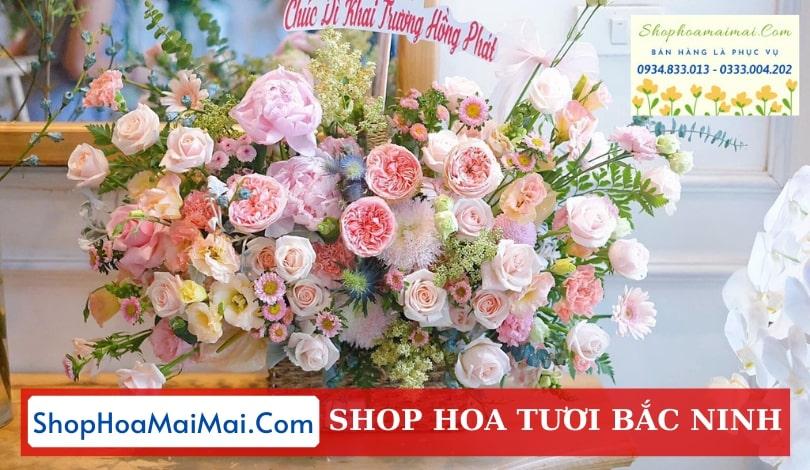 Điện hoa tươi online Bắc Ninh